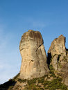 Meteora rocks - Greece Royalty Free Stock Photo