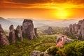 Kláštor na západ slnka grécko