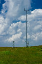 Meteorological stations. Royalty Free Stock Image