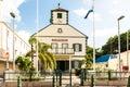 Methodist Church on Main Street of Philipsburg in Sin Maarten