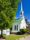 Methodist Church in Sutter Creek Stock Image