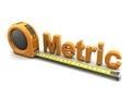 Metric Royalty Free Stock Photo
