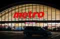Metro grocery store toronto november inc is food retailer operating in the canadian provinces of quebec and ontario is the third Royalty Free Stock Photo