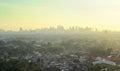 Metro Manila suburb Royalty Free Stock Image