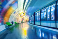 Metro station in Paris Royalty Free Stock Photo