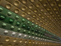 Metro station in Prague Stock Photos