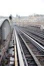 Metro ways Royalty Free Stock Photo