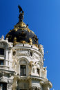 Metropolis, Madrid Spain Royalty Free Stock Photo