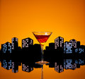 Metropolis manhattan cocktail a is a made with whiskey sweet vermouth and bitters whiskeys used are rye the traditional choice Royalty Free Stock Images
