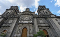 The Metropolitan Cathedral of Mexico C Royalty Free Stock Image