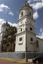 Metropolitan cathedral old town panama city panamà january located in the heart of the casco viejo in independence square Stock Photo