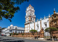 Metropolitan Cathedral of Sucre - Sucre, Bolivia Royalty Free Stock Photo