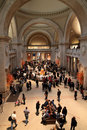 Metropolitan Museum Great Hall, New York Royalty Free Stock Photo