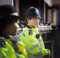 Metropolitan Policewoman on duty in London
