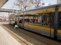 Metropolitan subway driver controls security