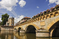 Metz Bridge Royalty Free Stock Photos