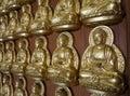 Meun Buddhasukkhavadi Hall with the thousands of small Buddha images.
