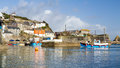 Mevagissey cornwall england uk harbour on the south coast of europe Stock Photography