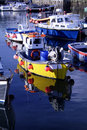 Mevagissey harbour Stock Photography