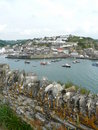 Mevagissey Harbour In Cornwall, England Stock Photos