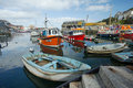 Mevagissey Harbour, Cornwall, England Royalty Free Stock Photo