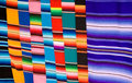 Mexicaanse dekens Stock Afbeelding
