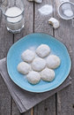 Mexican almond cookies Stock Images