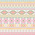Mexican american indian pattern tribal ethnic motifs geometric vector background.