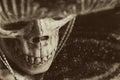 Mexican Bandit Skeleton Royalty Free Stock Photo