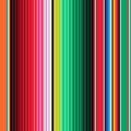 Mexican Blanket Stripes Seamless Royalty Free Stock Photo