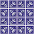 Mexican Ceramic Tiles Background  Stock Photography