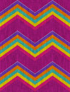 Mexican Chevrons Pattern