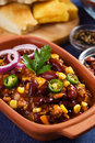 Mexican chili con carne Royalty Free Stock Image