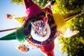 Mexican colorful pinata piñata tradition Royalty Free Stock Photo