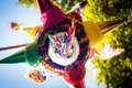 Mexican colorful pinata piñata tradition Royalty Free Stock Photo