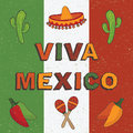 Mexican decoration Royalty Free Stock Photo