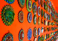 Mexican decoration plates Stock Photos