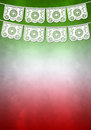 Mexican decoration poster template copy space ready for your design Royalty Free Stock Images