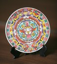 Mexican decorative plate Royalty Free Stock Image