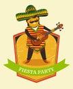 Mexican Fiesta Party Invitatio...