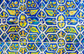 Mexican Floral Tile Abstract B...