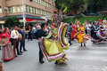 Mexican folk dancers Royalty Free Stock Image