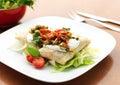 Mexican Food - Chimichanga Stock Image