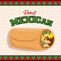 mexican food taco poster
