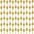 Mexican guitar seamless pattern, flat vector stock illustration with musical instrument as a symbol of mexico Royalty Free Stock Photo