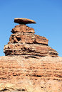 The Mexican Hat Monument Royalty Free Stock Image