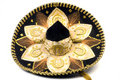 Mexican hat sombrero Royalty Free Stock Photo