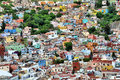 Mexican houses Royalty Free Stock Photo