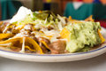 Mexican Loaded Nachos Royalty Free Stock Photo