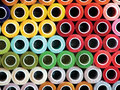 Mexican market traditional Colorful threads Royalty Free Stock Photo